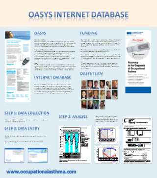 Oasys poster at the MidTECH Award Ceremony 2010